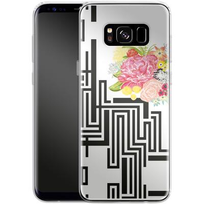 Samsung Galaxy S8 Silikon Handyhuelle - Michi Garden von Khristian Howell