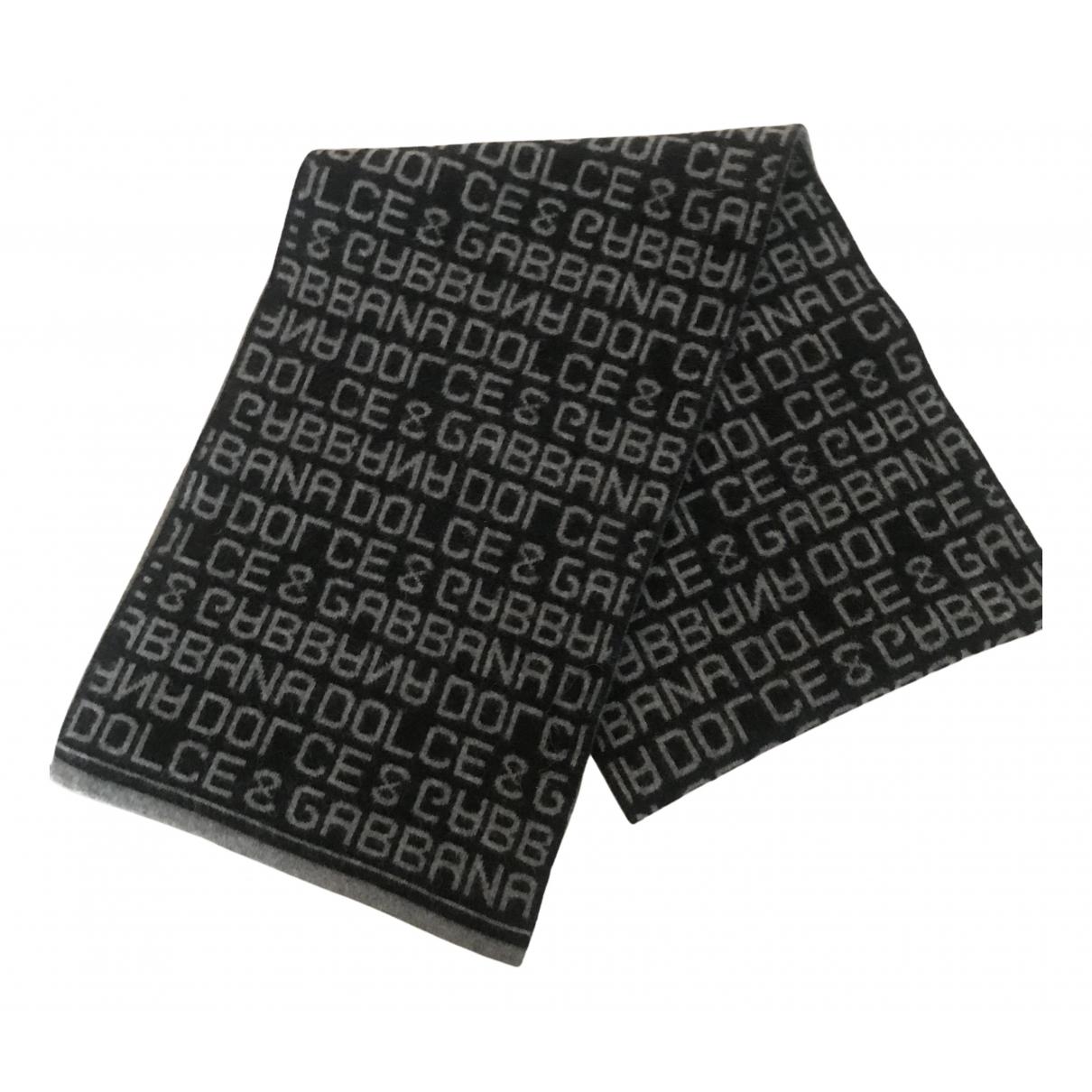 Dolce & Gabbana N Black Wool scarf for Women N