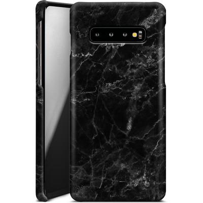 Samsung Galaxy S10 Plus Smartphone Huelle - Midnight Marble von caseable Designs
