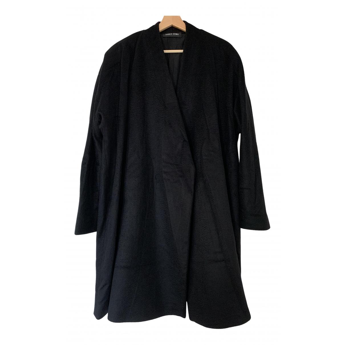 Damir Doma N Black Cashmere coat for Women 38 FR