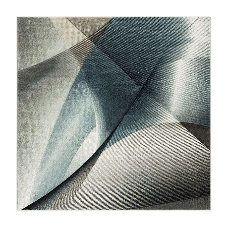 Safavieh Hollywood Collection Sydney Abstract Square Area Rug, One Size , Multiple Colors