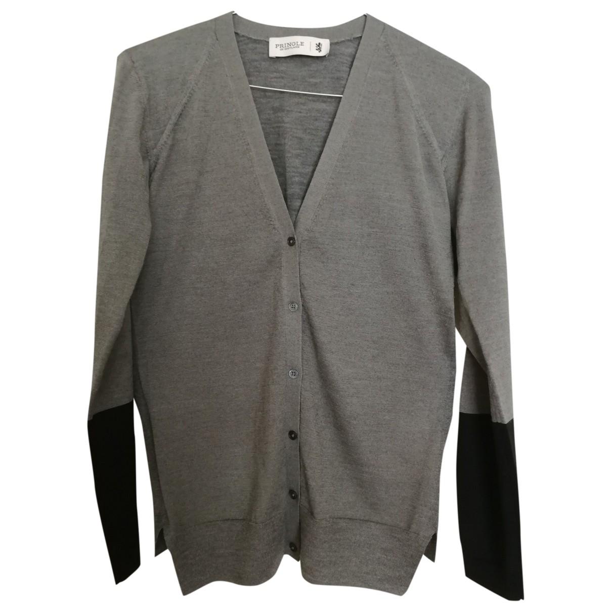 Pringle Of Scotland \N Grey Wool Knitwear for Women S International