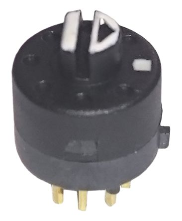 Lorlin , 8 Position Rotary Switch, 500 mA, PCB Pin