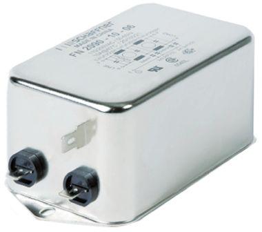 Schaffner , FN2090 10A 250 V ac 0 → 400Hz, Flange Mount RFI Filter, Tab