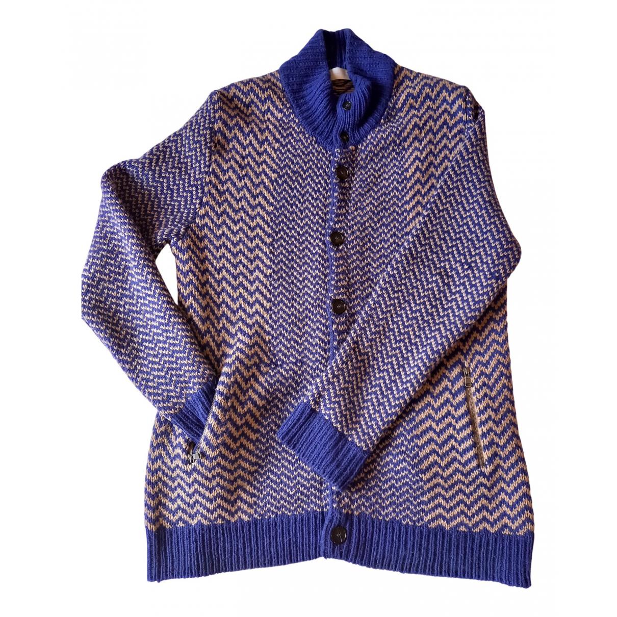 Mauro Grifoni \N Pullover.Westen.Sweatshirts  Blau