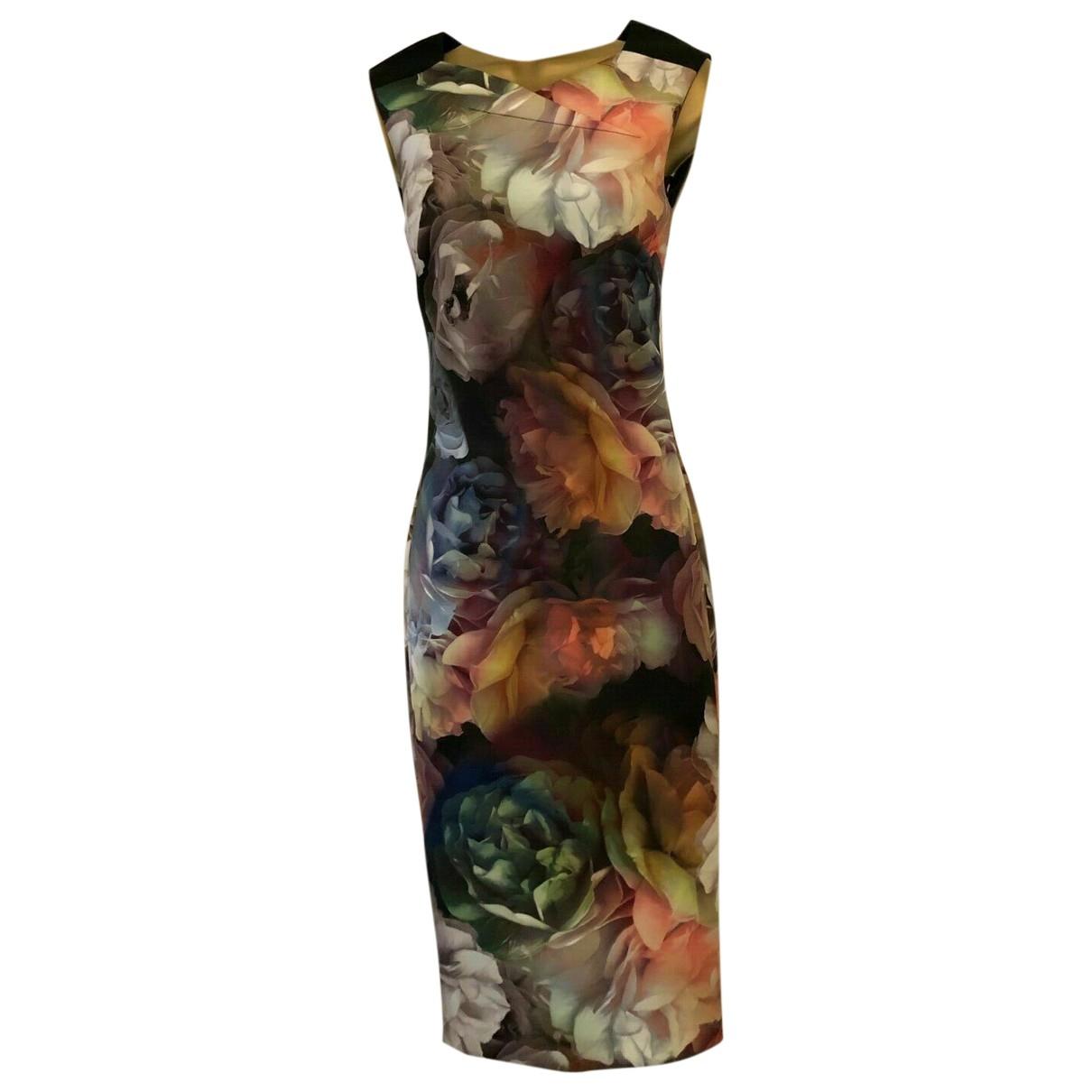 Ted Baker \N Kleid in  Bunt Polyester