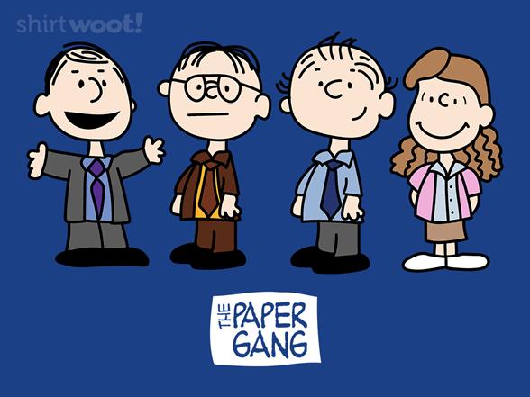 The Paper Gang T Shirt