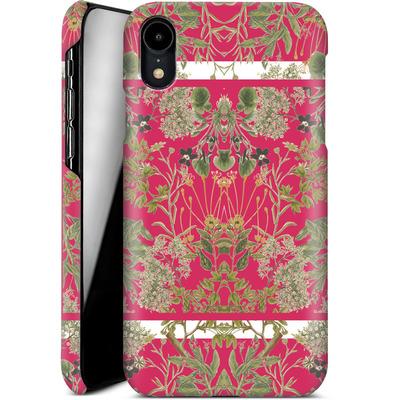Apple iPhone XR Smartphone Huelle - Botanic Frames von Zala Farah