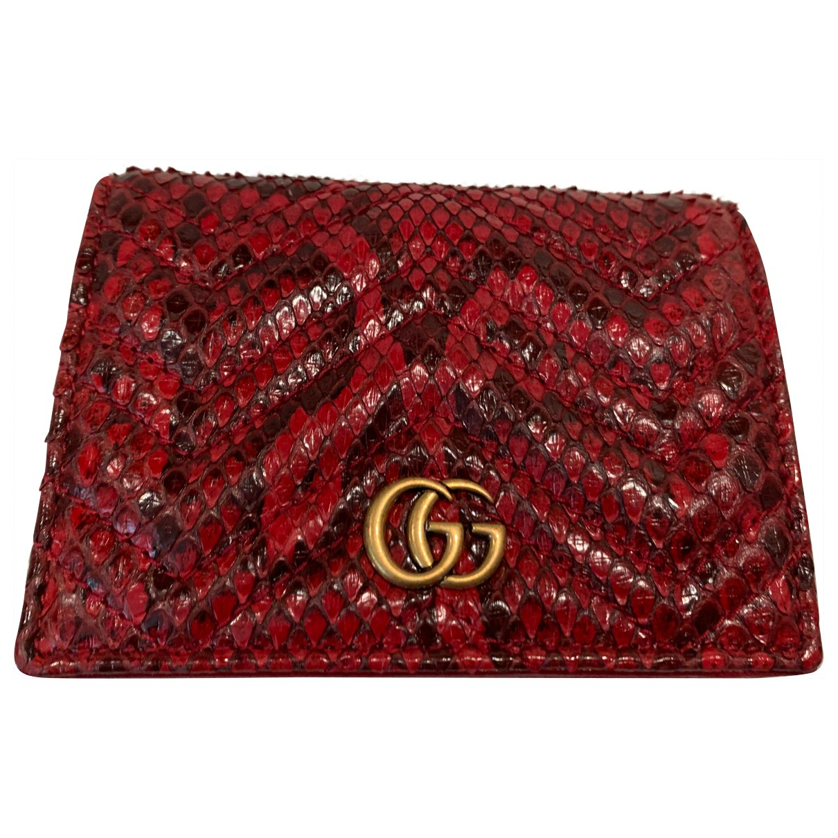 Gucci \N Red Python wallet for Women \N