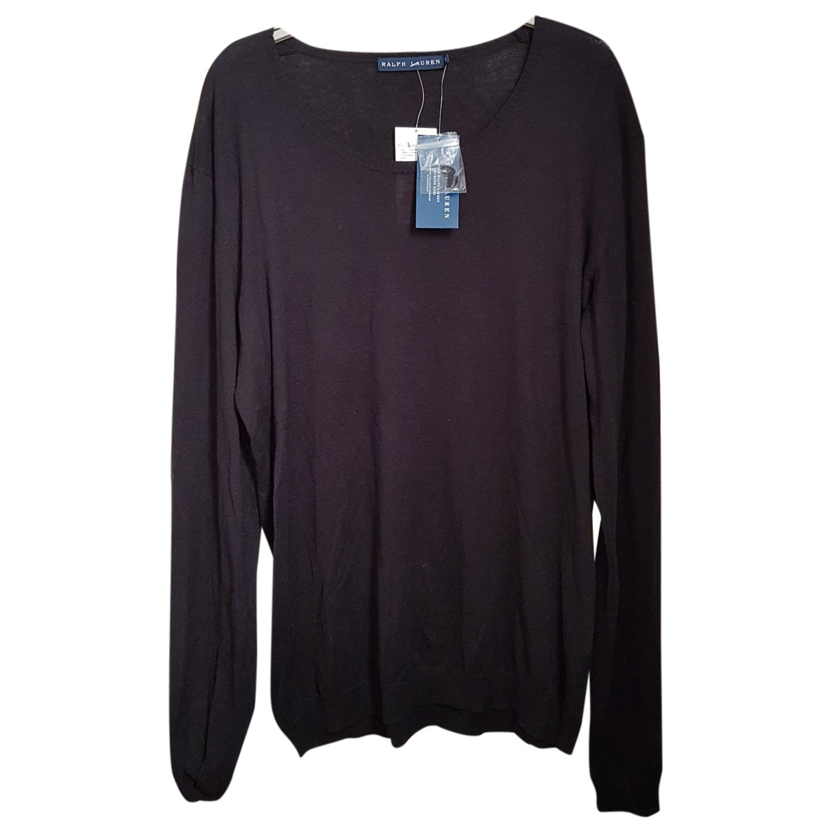 Ralph Lauren - Pull   pour femme en coton - noir