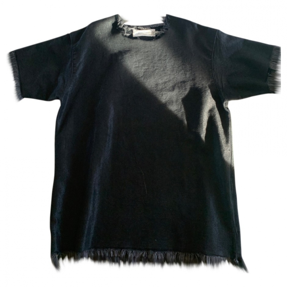 Marques Almeida \N Kleid in  Anthrazit Denim - Jeans