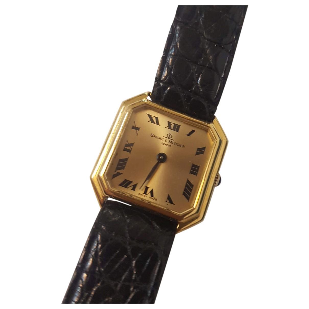 Baume Et Mercier Hampton Uhr in  Gold Gelbgold