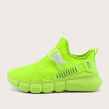 Maenner Sneakers mit Schnalle Dekor