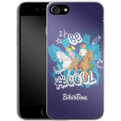 Apple iPhone 7 Silikon Handyhuelle - Bibi und Tina Be Cool von Bibi & Tina