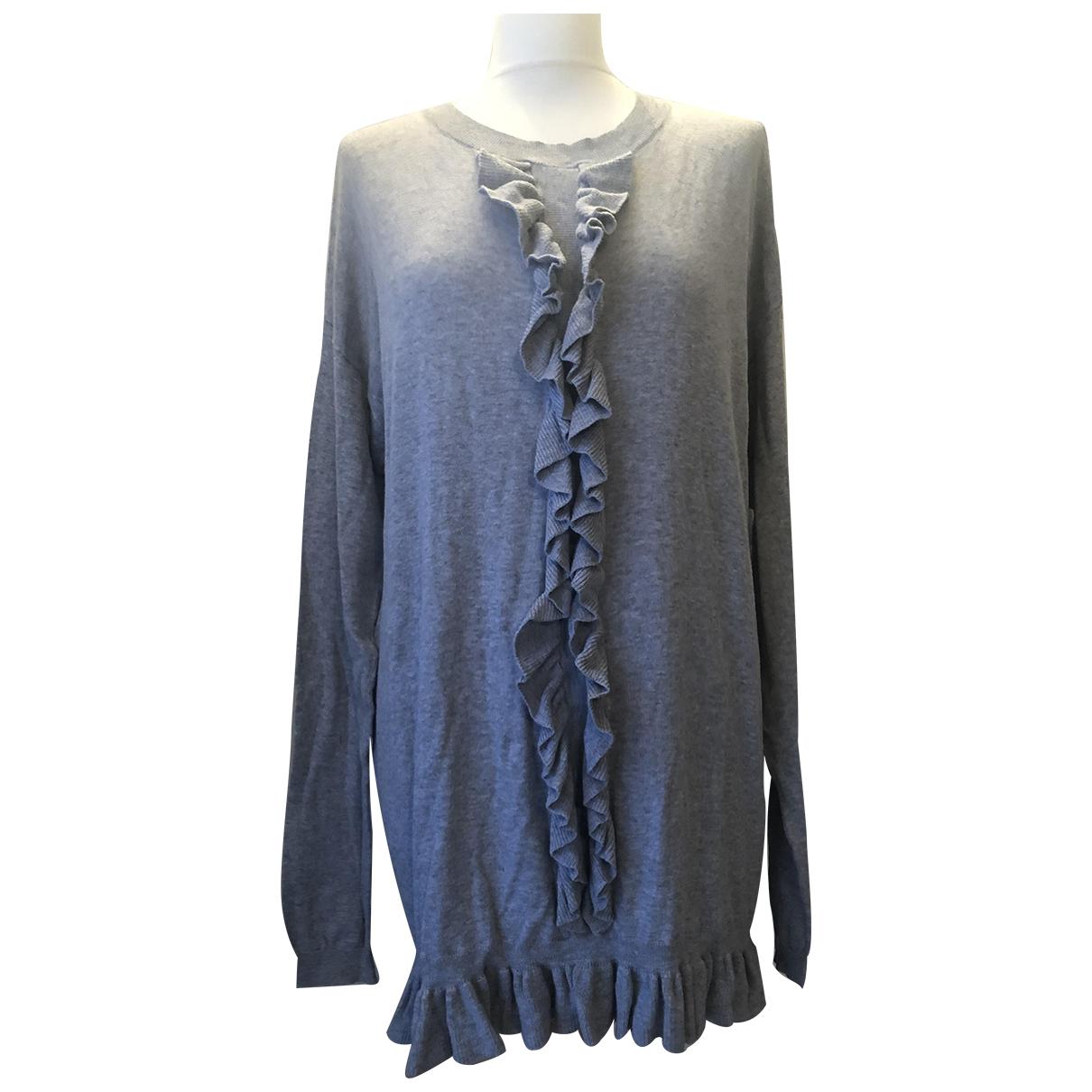 Zimmermann \N Kleid in  Grau Baumwolle
