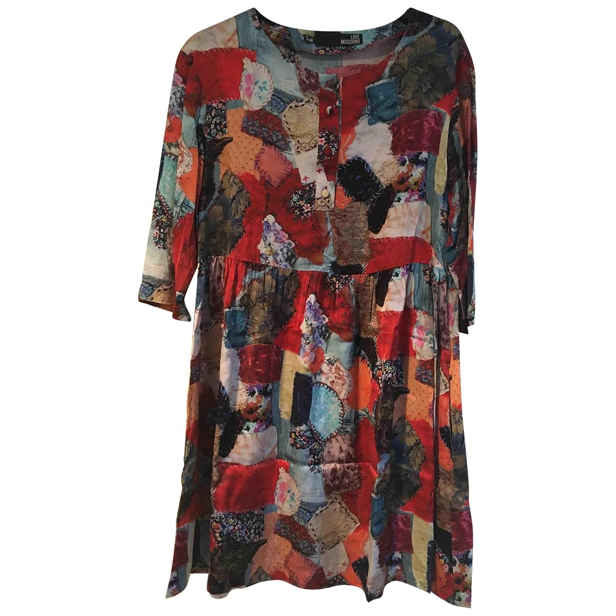 Moschino Love - Robe   pour femme - multicolore