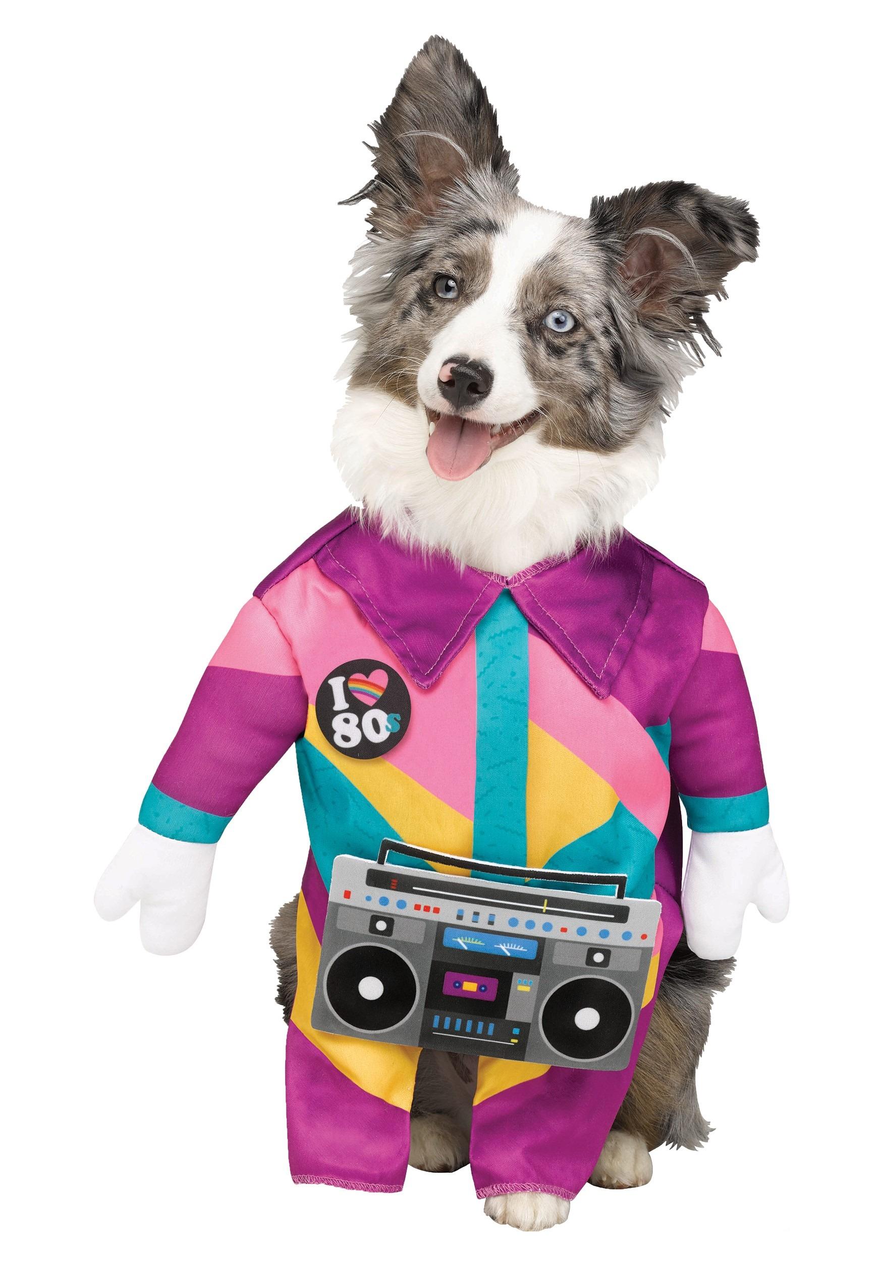 80's Pet Dog Costume