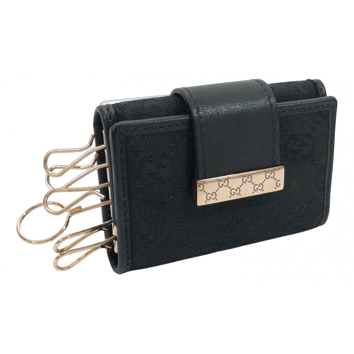 Gucci N Black Metal Bag charms for Women N