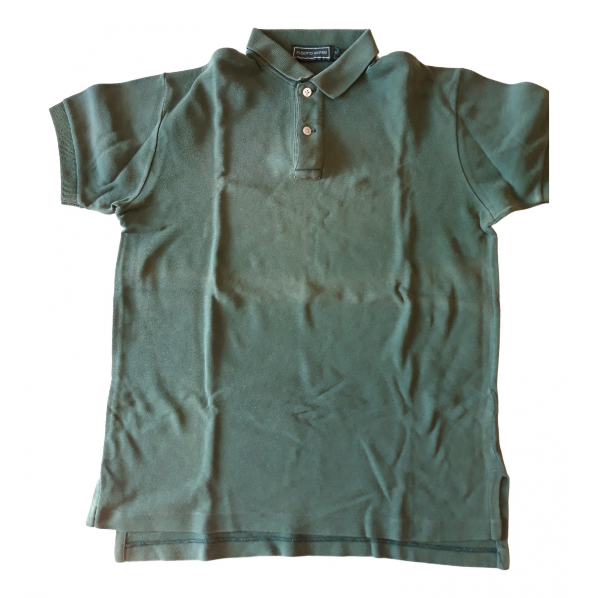 Aspesi - Top   pour femme en coton - vert