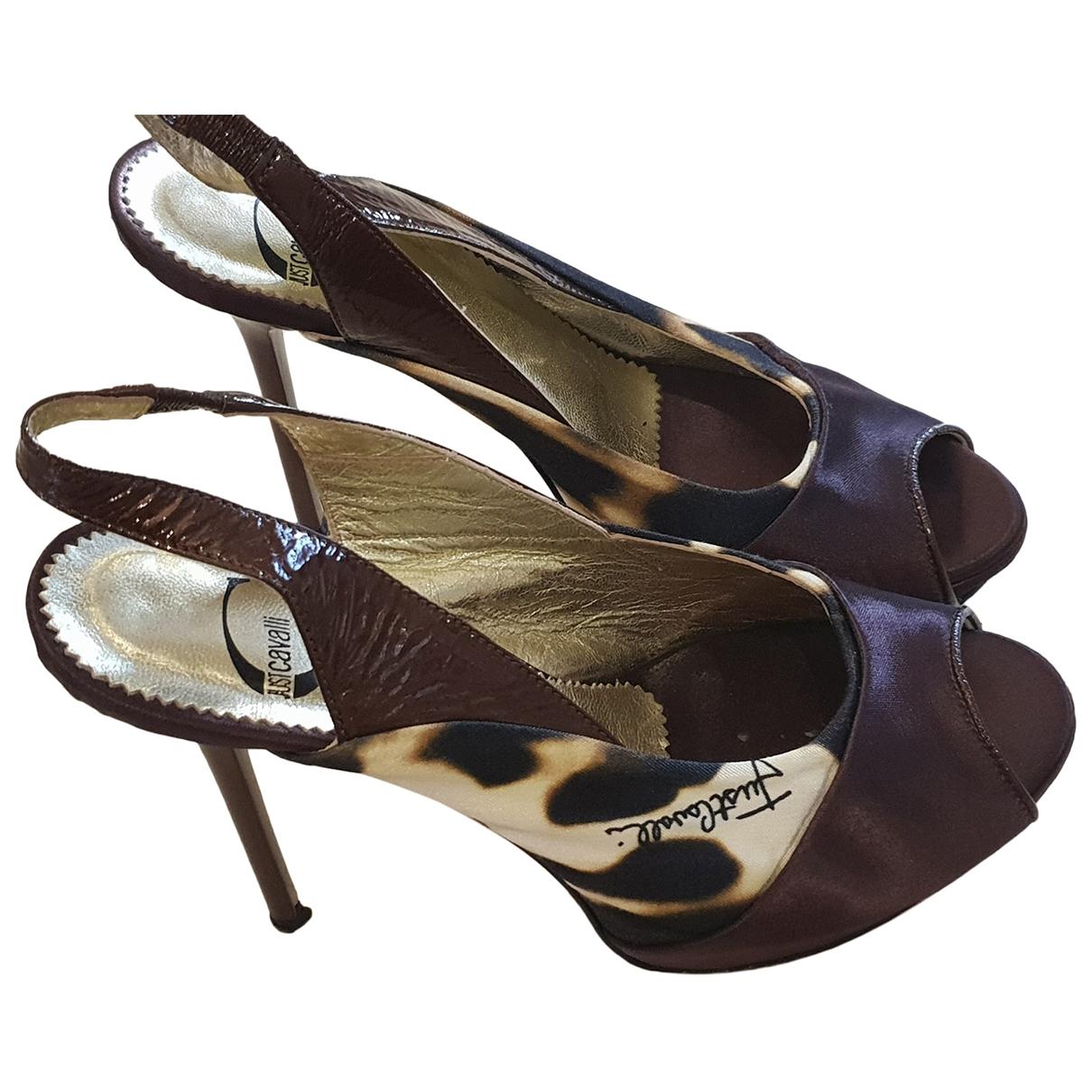Just Cavalli - Sandales   pour femme en cuir - multicolore
