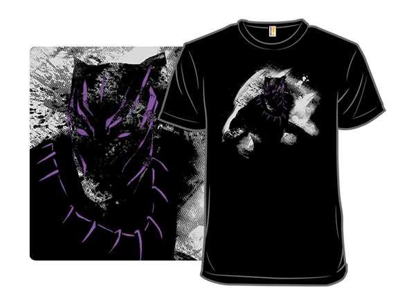 The Panther King T Shirt