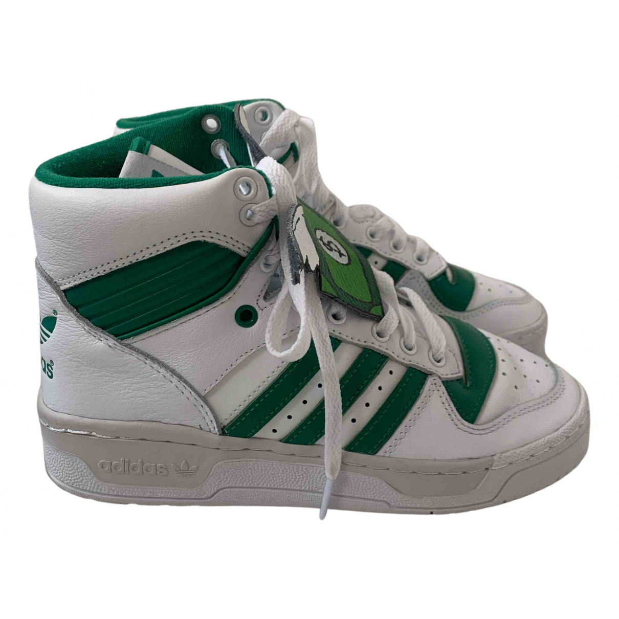 Adidas N White Leather Trainers for Women 4 UK