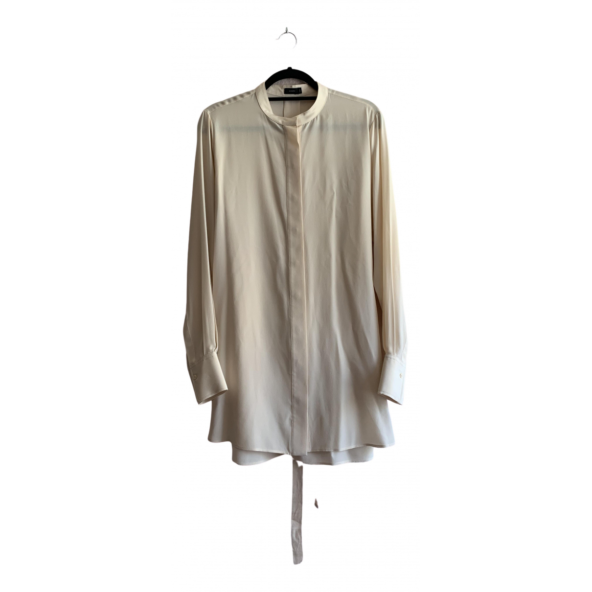 Joseph \N Beige Silk  top for Women 42 FR