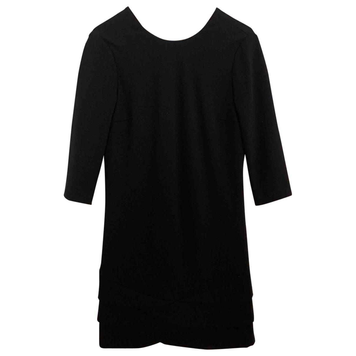 Pinko \N Kleid in  Schwarz Baumwolle