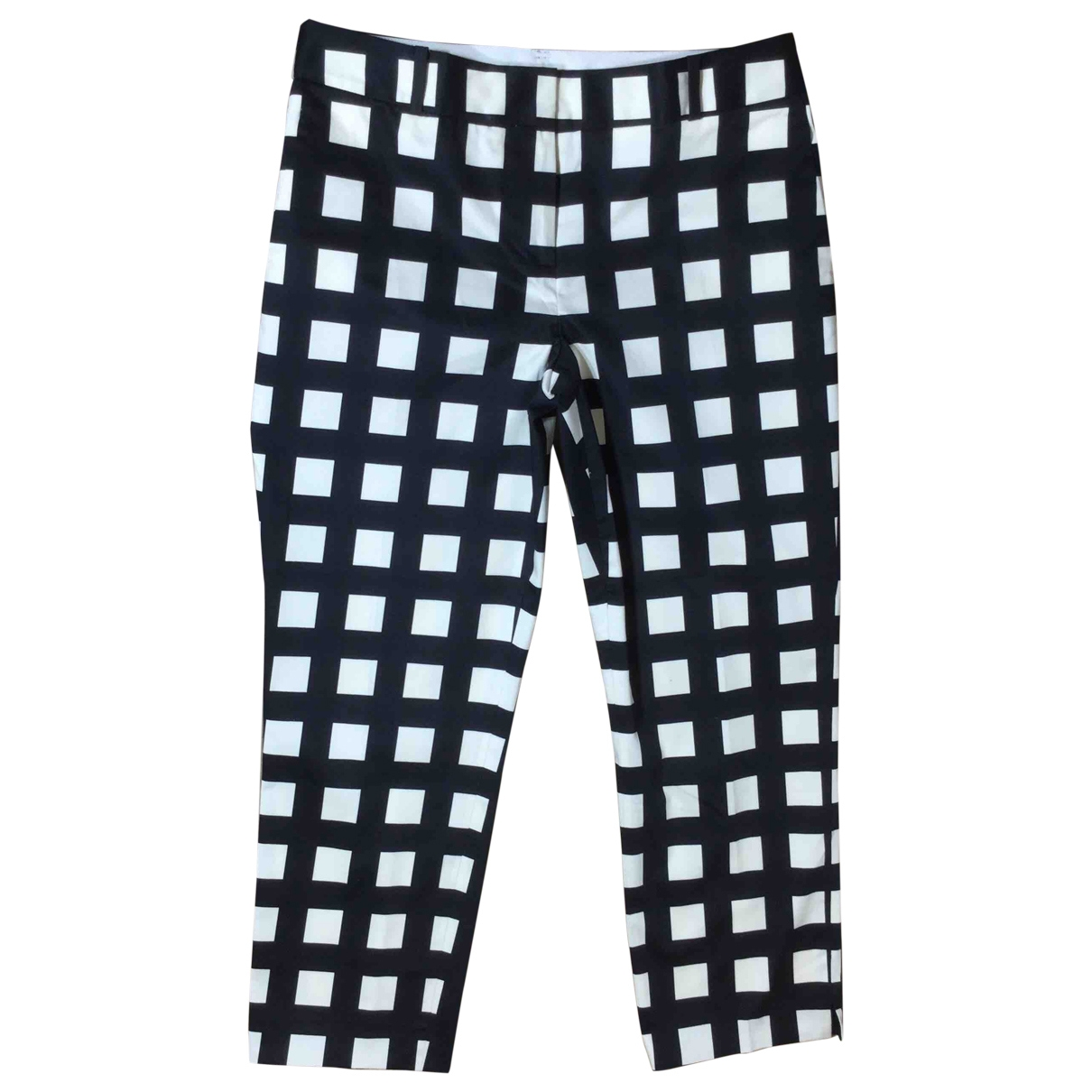 Kate Spade \N Multicolour Cotton Trousers for Women 0 0-5