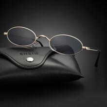Gafas de sol de hombres de marco de oval