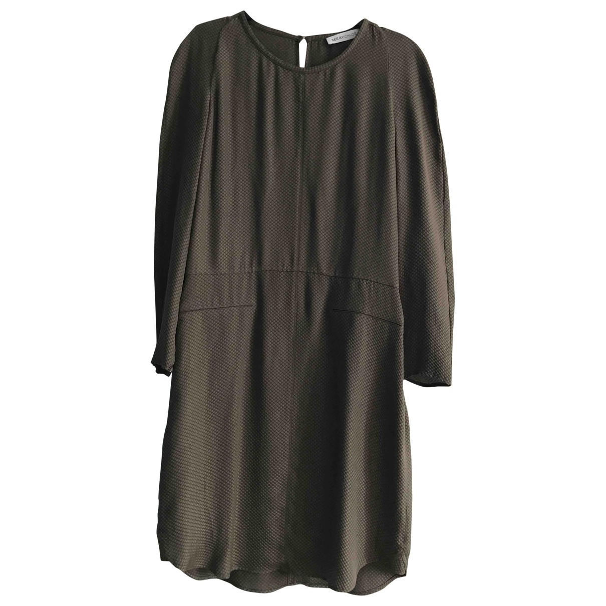 See By Chloé \N Brown Silk dress for Women 36 FR