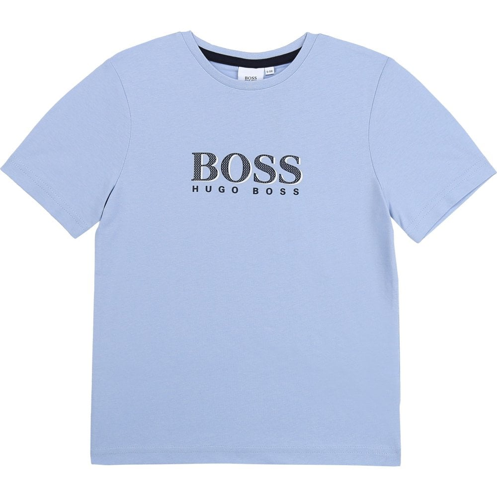 Hugo Boss T-shirt Colour: BLUE, Size: 10 YEARS