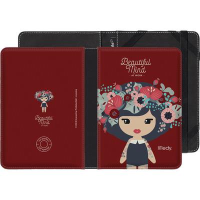 Pocketbook Touch Lux eBook Reader Huelle - Beautiful Mind at Work von Lil' Ledy