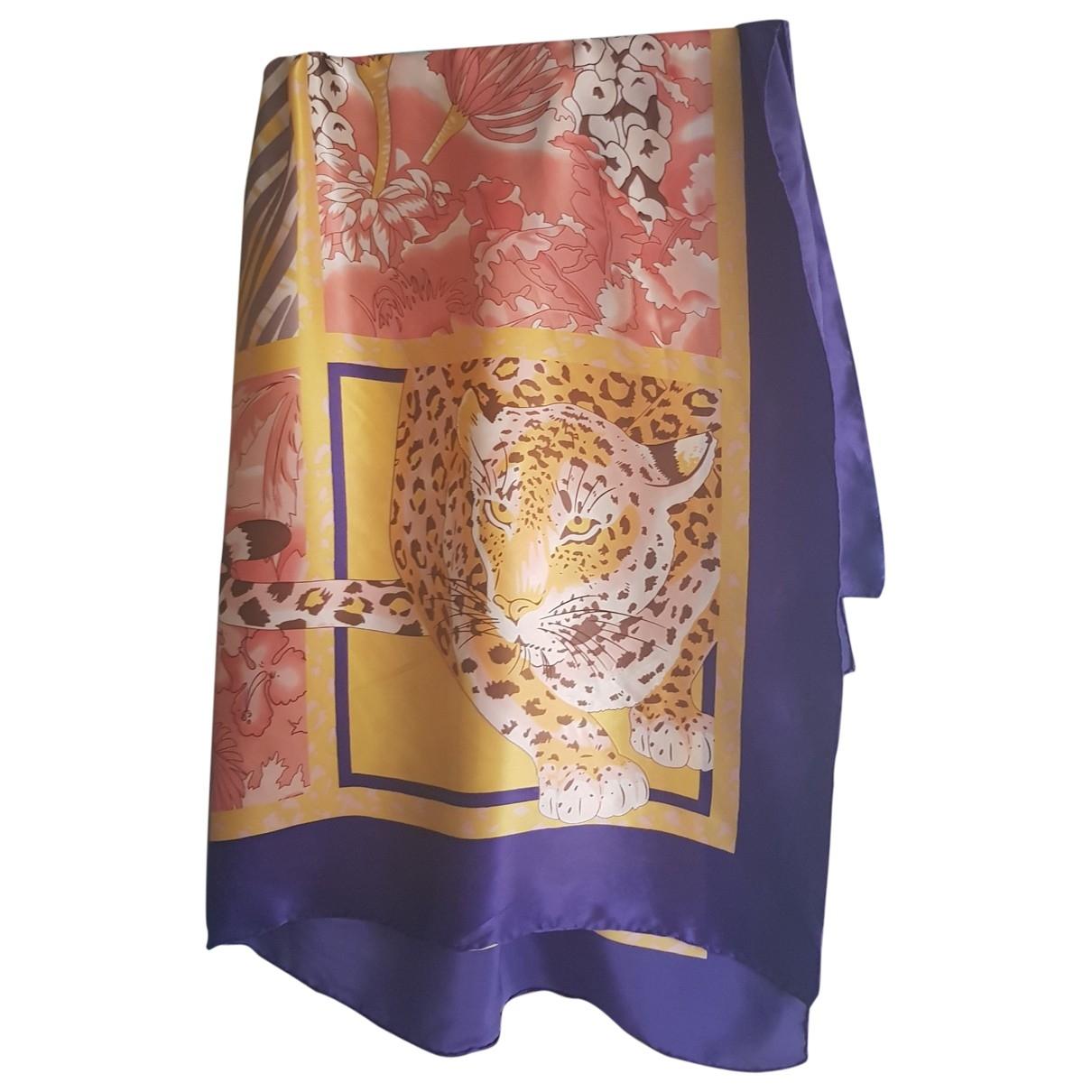 Uterque \N Multicolour Silk Silk handkerchief for Women \N