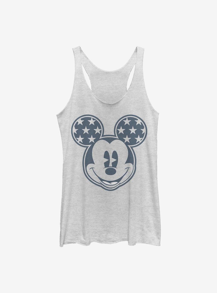 Disney Mickey Mouse Star Ears Womens Tank Top