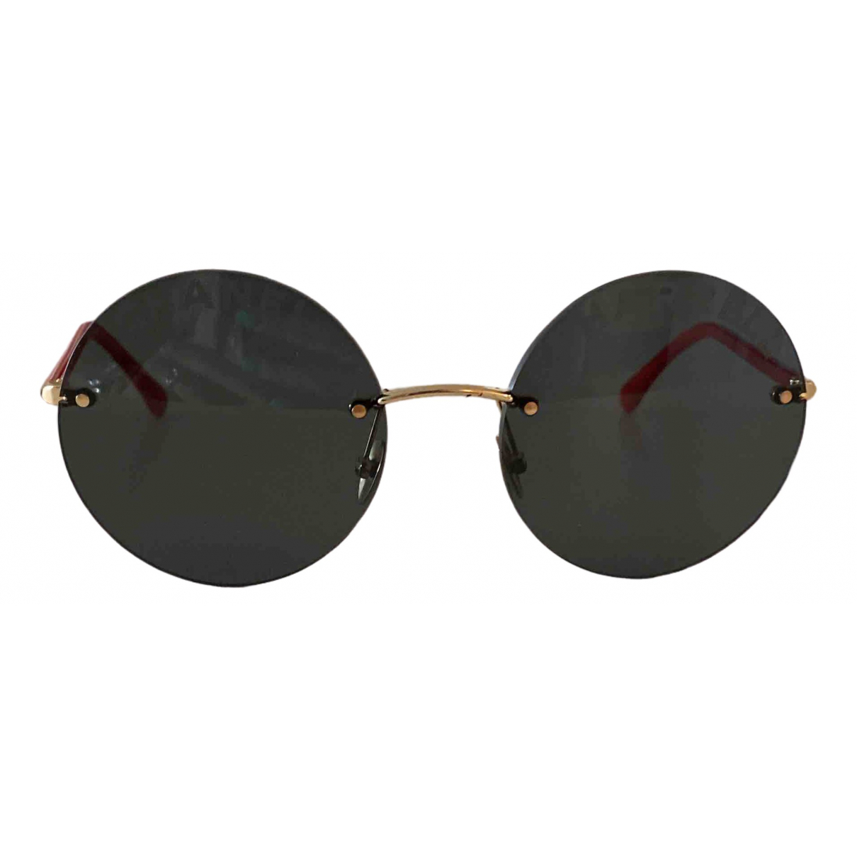 Chanel X Pharrell Williams \N Black Metal Sunglasses for Women \N