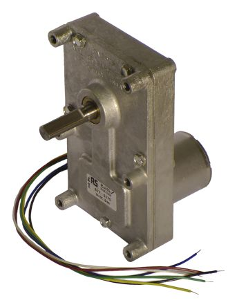 Mellor Electric , 24 V dc, 17 Nm, Brushless DC Geared Motor, Output Speed 10 rpm