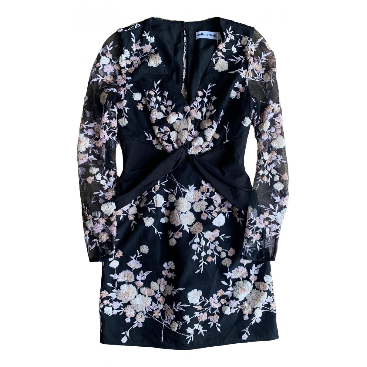 Self Portrait \N Black Lace dress for Women 8 UK