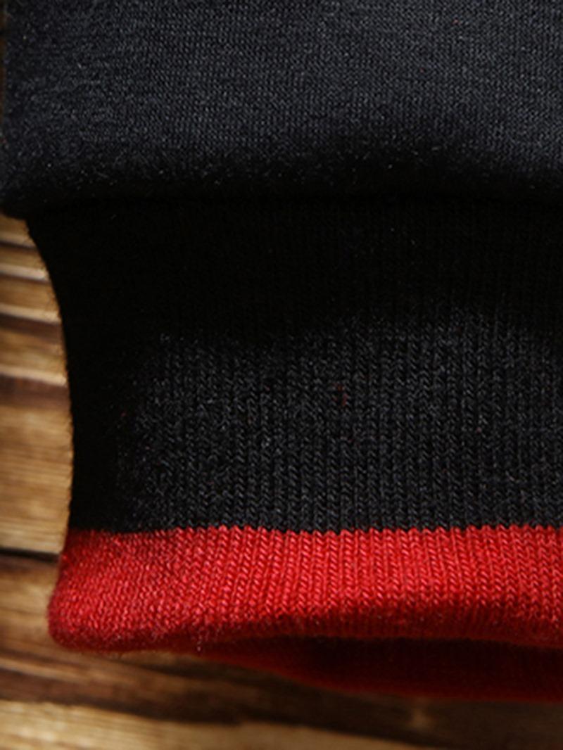 Ericdress Print Letter Men's Casual Pullover Hoodies
