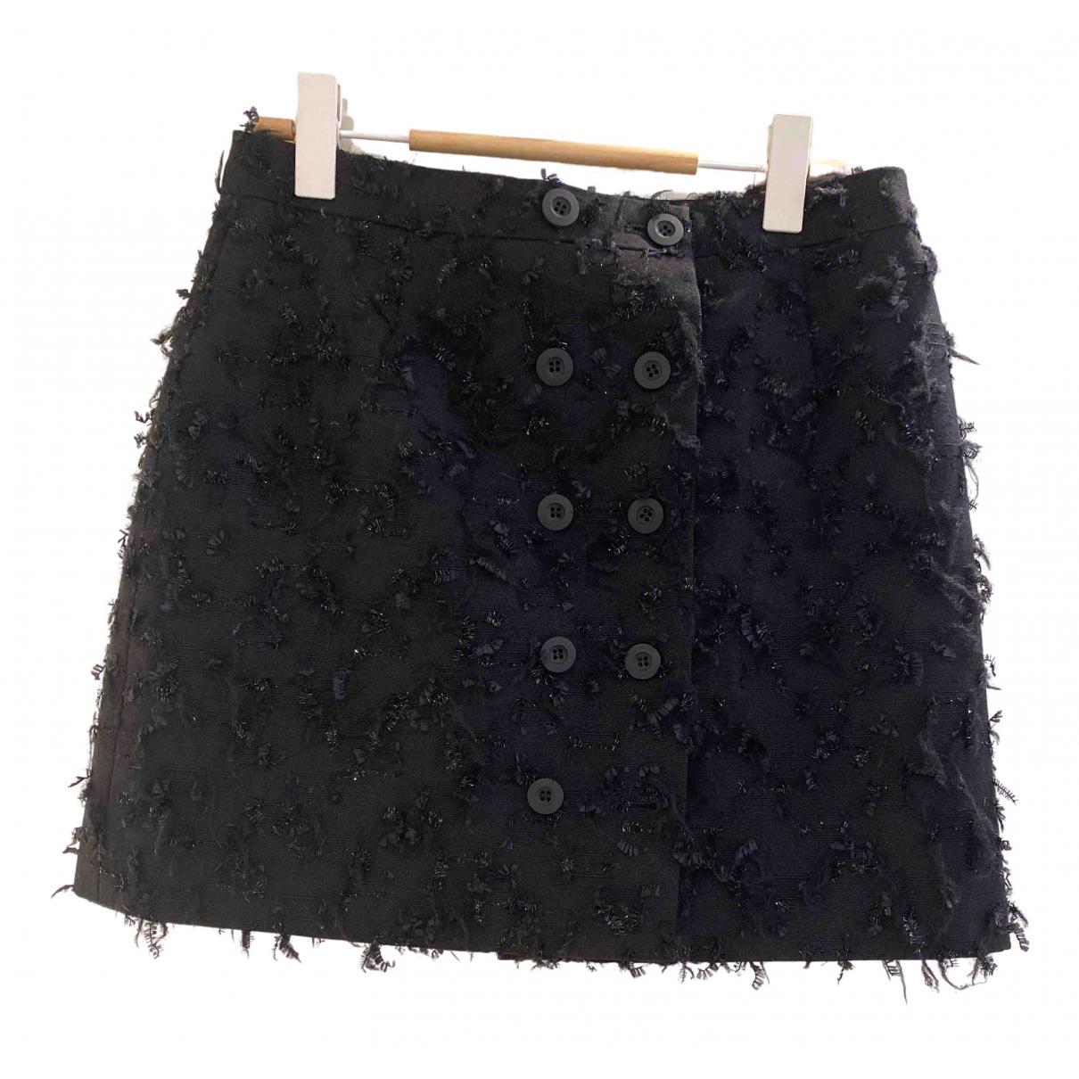 Balenciaga N Black Wool skirt for Women 42 IT