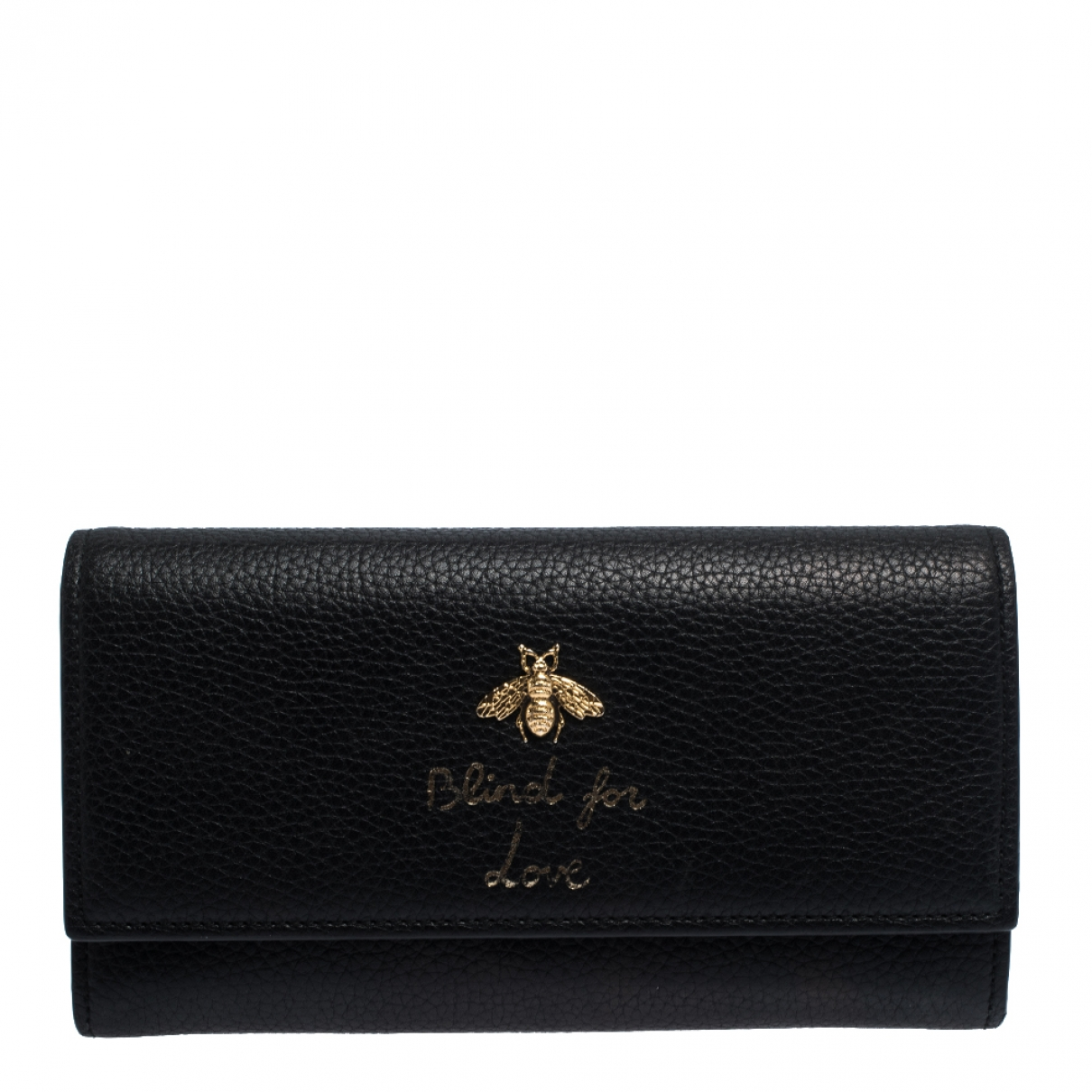 Gucci Continental Black Leather wallet for Women \N