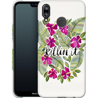 Huawei P20 Lite Smartphone Huelle - Killin It Pink von Cat Coquillette