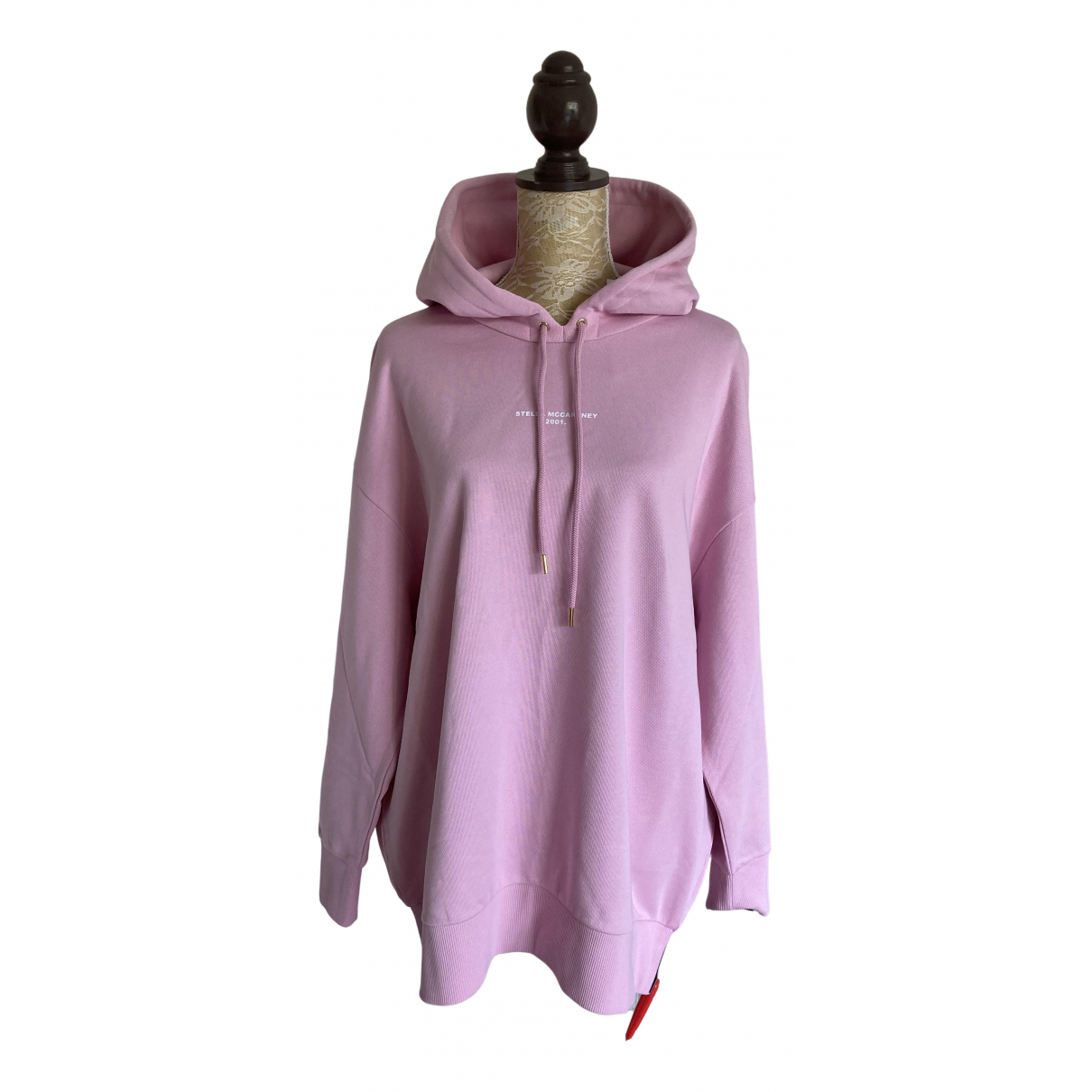 Stella Mccartney \N Pullover in  Rosa Baumwolle