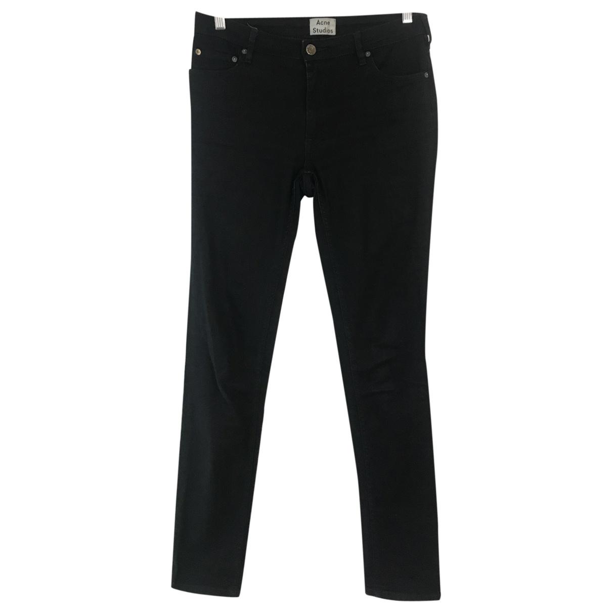 Acne Studios Flex Blue Cotton - elasthane Jeans for Women 29 US