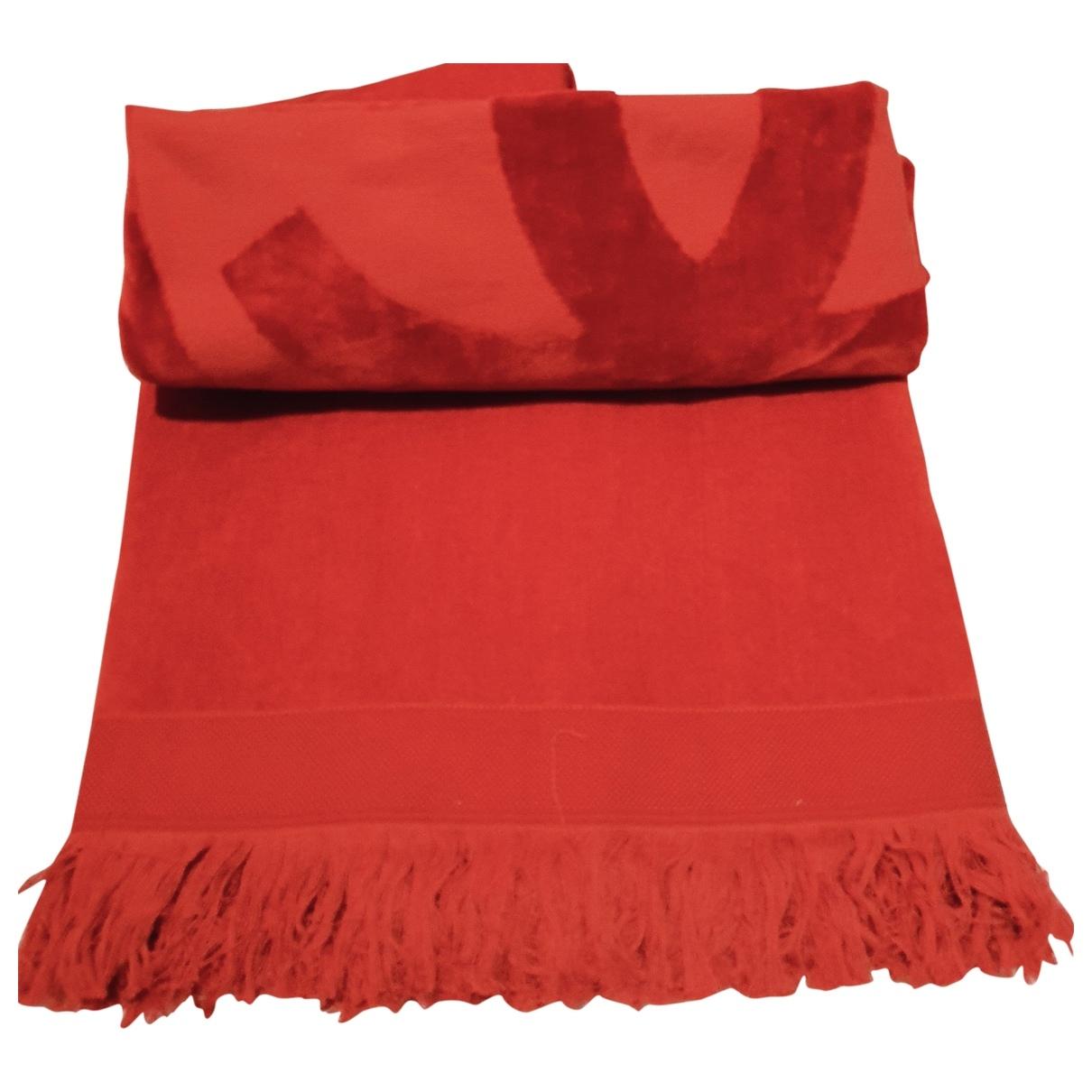 Chanel - Linge de maison   pour lifestyle en coton - rouge