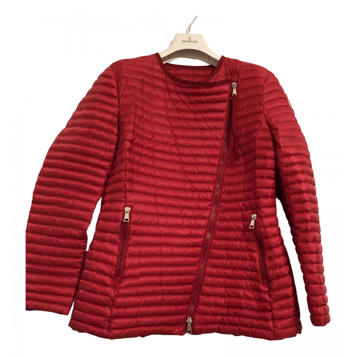 Moncler - Veste   pour femme - rouge