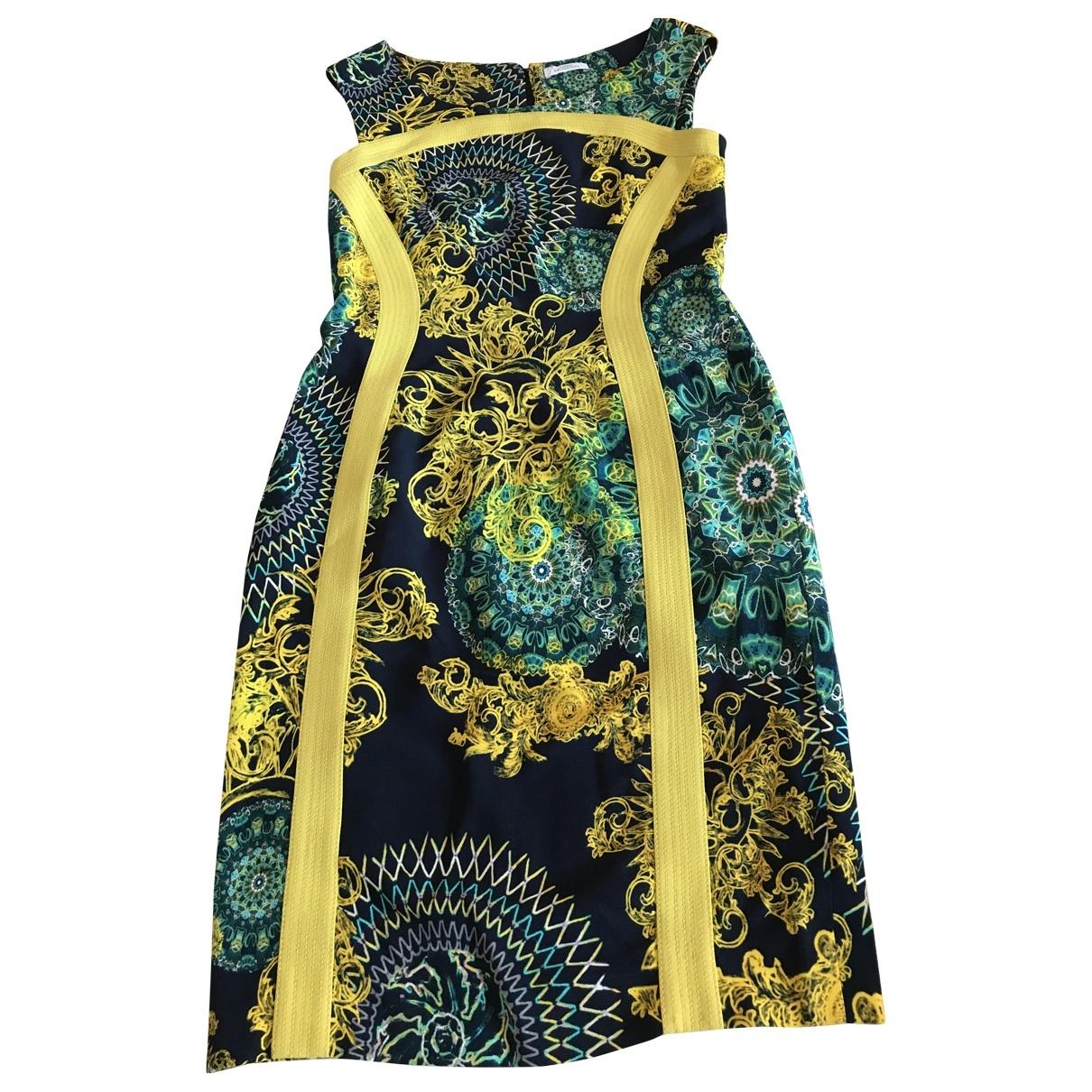 Versace \N Kleid in  Bunt Baumwolle - Elasthan