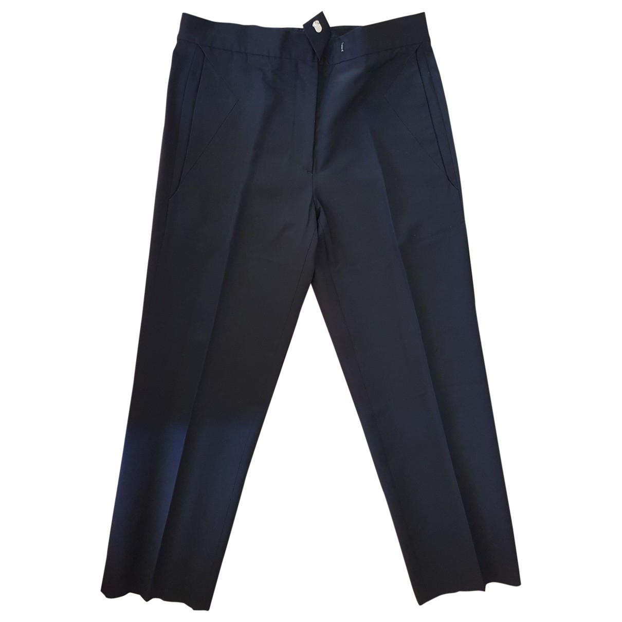 Maison Martin Margiela \N Black Trousers for Women 44 IT
