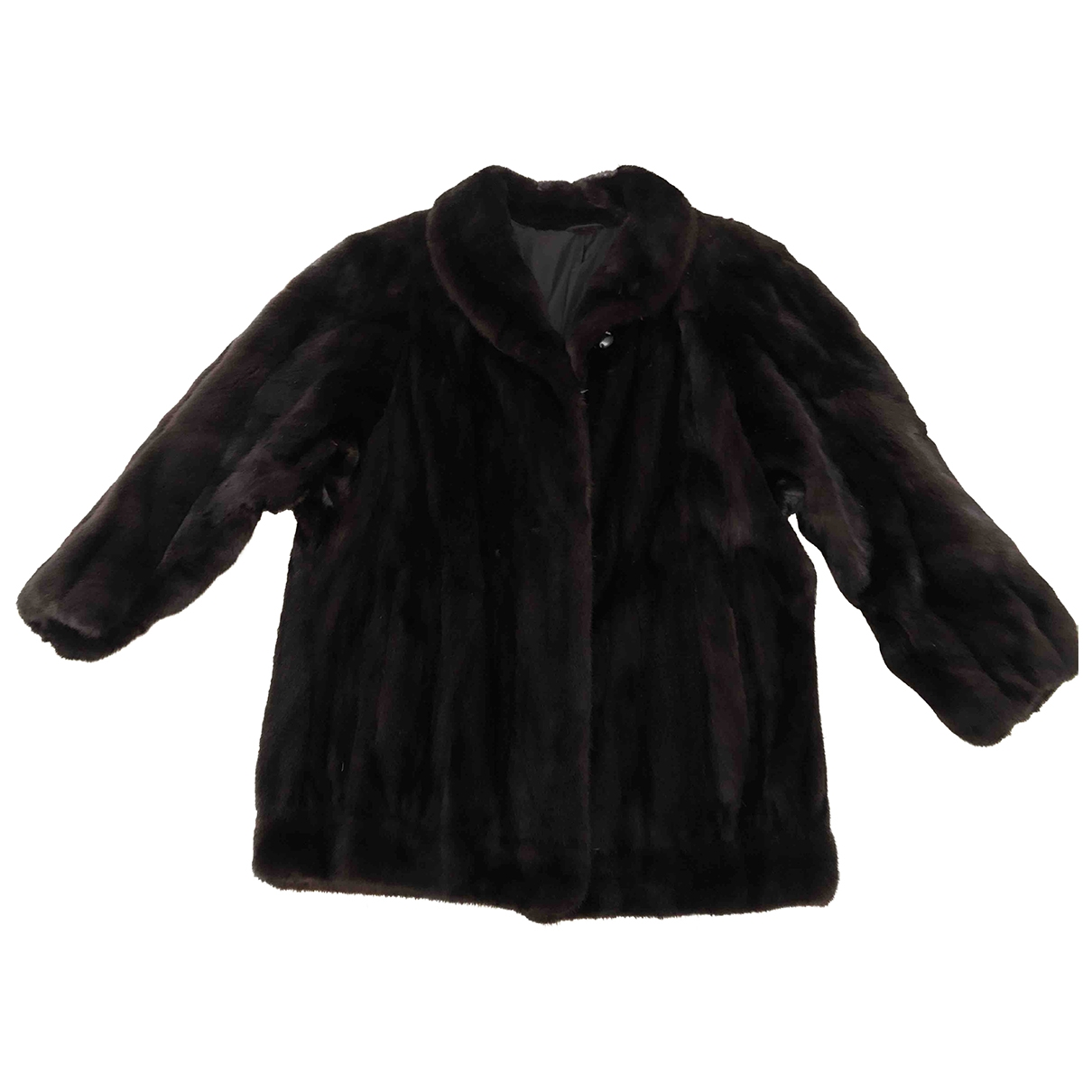 Non Signé / Unsigned \N Black Mink jacket for Women 40 FR