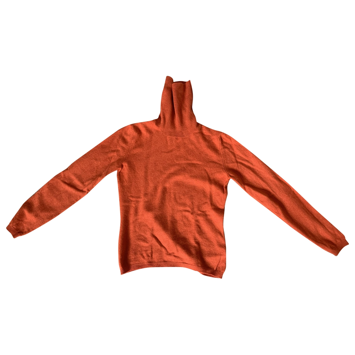 Fabiana Filippi - Pull   pour femme en cachemire - orange